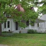 The John Irving House is across the street from the Inn.