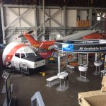 Part of USCG Display, aircraft, vehicles and boats