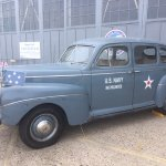 WWII Navy Admiral's vehicle