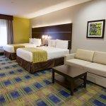 Two Queen Bedroom Suite with Sleeper Sofa