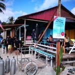 New angel diver at long beach Perhentian Kecil