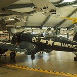 F4U Corsair, Rugged fighter usually flown by the Marines