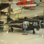 F9F Panther Jet. one of the Navy's first jet fighters