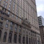 The imposing exterior