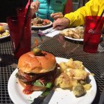 Very robust hamburger that one of our group enjoyed.