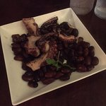 Grilled octopus - probably the best I've ever had!