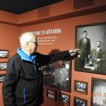 Bob, the tour guide, explaining some of the maritime history of New Zealand.