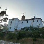 Monastery, a healthy 20 minute walk/hike behind the B&B (Santuario de la Virgen de Gracia)