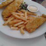 Beer Batter Fish and Chips with Tartare Sauce