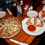 The House special pizza and the Cheeser calzone!!!