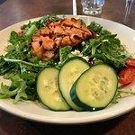 King salmon salad