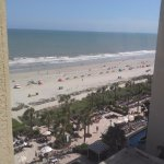 This is the partial balcony room view
