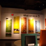 This exhibit discusses some organizations that help reduce modern day slavery and ways we can he