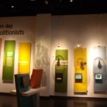"""This exhibit discusses some """"Modern day Abolitionists"""" and ways we can help."""