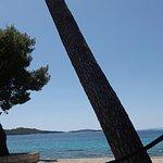 Orebic pebble beach