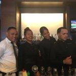 Amazing staff at Carey Lounge!