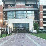 Bryant Denny Stadium and the Walk of Champions.