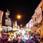 Sunday walk street night market