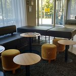 Seating area in reception