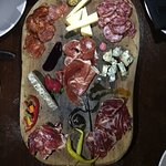Iberico sampler platter + three cheeses