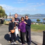 Traveling with longtime Coast Guard friends at Dylan's departure point. Great Day!,👍😃