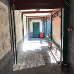 Connecting the second and third courtyard