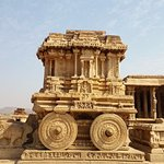 Vittala Temple is marvelous construction in stone and built by Srikrishnadevaraya