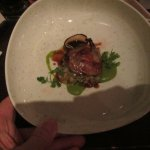 2nd course, quail breast was good
