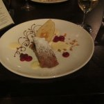 5th course, Apple strudel was very good