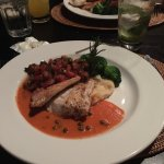 Red Snapper mashed and tomatoes - delicious!!!