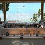 Bar area facing sea