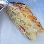 Veggie frittata the best!