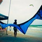 Hua Hin Beach KBA Kitesurfers