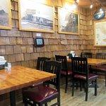 Seating by Deli Section of Granzella's Restaurang & Deli (Fox on TV), Williams, Ca