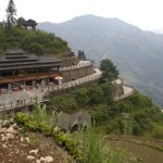 Rest and observation area at the top of View Point 1 (Nine Dragons and Five Tigers)