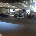 The second storey where BMW buyers can pick up their new purchase and drive off.