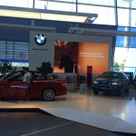 First storey contains more exhibits of BMW cars