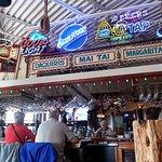 the bar at Popeye's on Lake Geneva