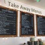 menu take away