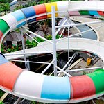 OUR THRILLER SPIRAL SPEED SLIDER... TRY IT ONLY @CIRCUSWATERPARK BALI