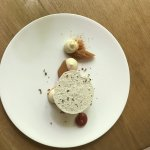 glace à la rhubarbe, chocolat blanc et poivre de Timut