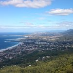 Looking over the Northern Suburbs and Wolongong