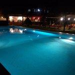 la piscina di Villa Pina