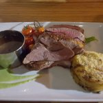 This Lamb dish was fab - the jus/gravy excellent