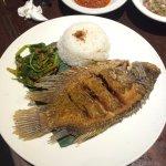 Fried fish set