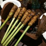 Sate (disappointing and over-priced)