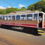Electric railway at Derby Castle