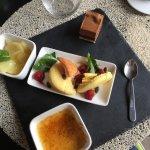 Des plats supers bons, originaux, un voyage dans l'assiette 😊