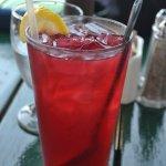 Blueberry Iced Tea with Lemonade - yum!