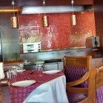 inside area of the restaurant